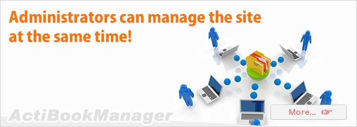 Manage website settings use Administrators!